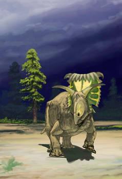 Kosmoceratops WIP