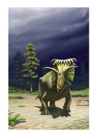 Kosmoceratops by Olorotitan