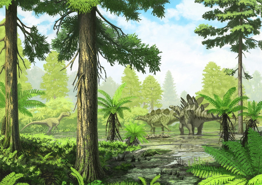 Awesome Paleoart  Sharipovo_by_olorotitan-d3hs1vs