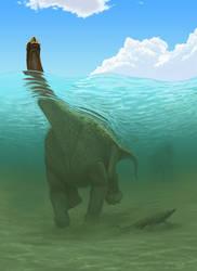 Titanosaur by Olorotitan