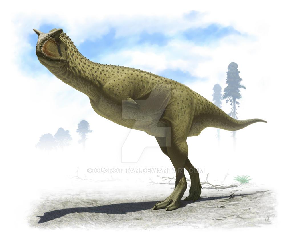 Carnotaurus sastrei by Olorotitan