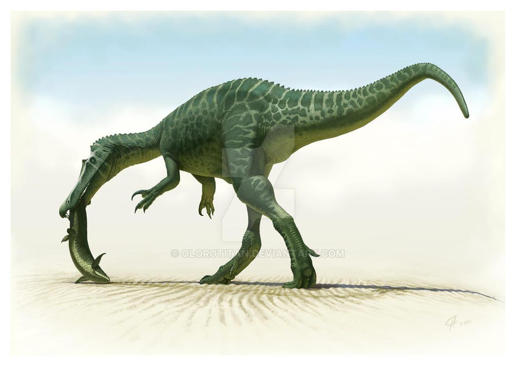 Baryonyx walkeri by Olorotitan