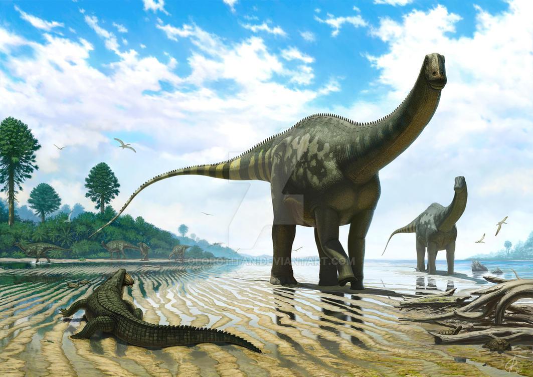 Demandasaurus darwini by Olorotitan