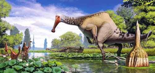 Deinocheirus with corrections