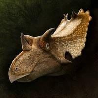 Utahceratops gettyi by Olorotitan