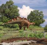 Stegosaur from Shestakovo