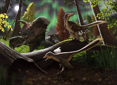 Saurornitholestinae from Alaska