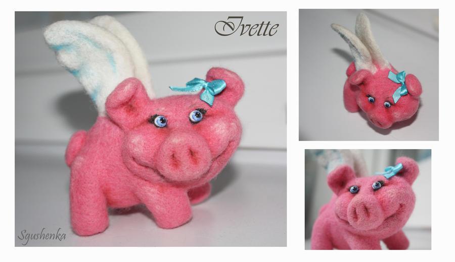 Ivette pig by Sgus-henka