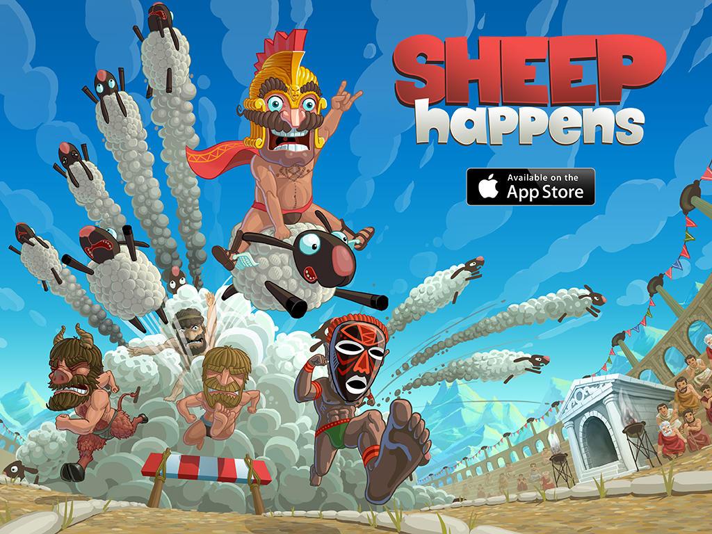 Sheep happens ads