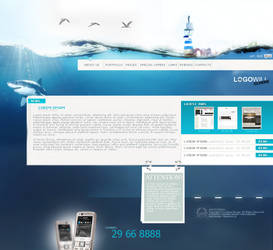 Under water page by joccedesign