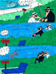 Spy Vs Spy Bare Fishing Part 2