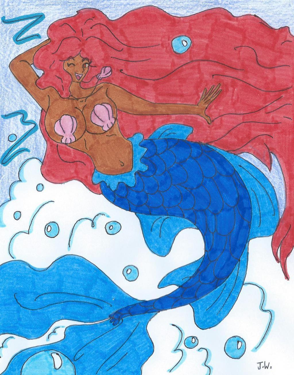Mermaid OC By Rockofmarduk On DeviantArt