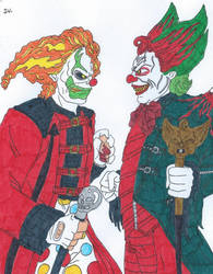 Jack The Clown Vs Eddie De Clown