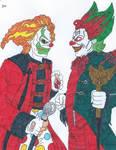 Jack The Clown Vs Eddie De Clown