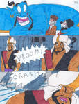 Dr Who and Micky Escape comic 3