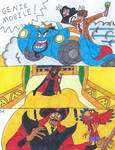 Dr Who and Micky Escape comic 4