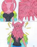 Lucoa Bubblegum comic Request 2