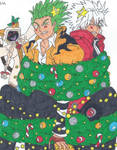 Merry Christmas from Terumi, Ragna and Tao!
