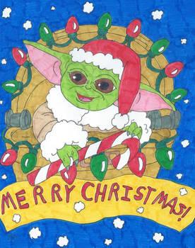 Baby Yoda's First Christmas