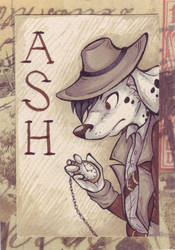 Ash Badge by WanEcc