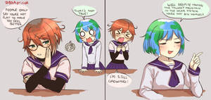 Earth chan and Mars chan roasts