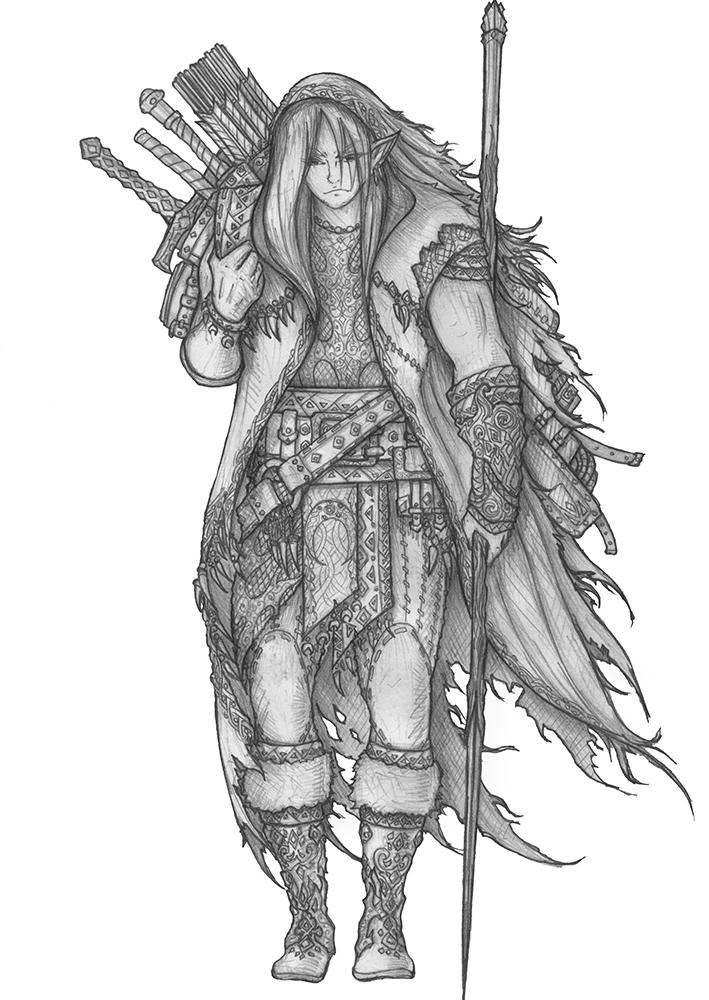 Heian Nailo - Wood Elf Barbarian