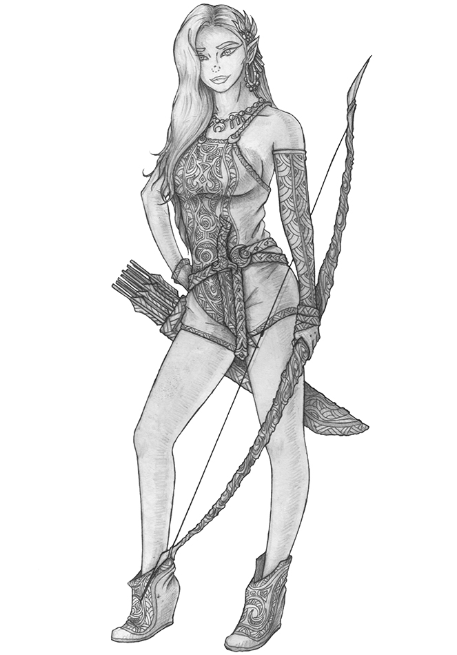Alaglossa Yindi - Elf Ranger