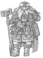 [COMMISSION] Thirir - Dwarf Warlock by s0ulafein