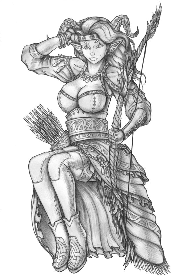 Shina - Succubus Ranger