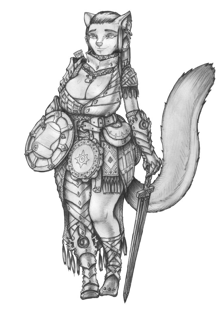 COMMISSION] Quest - Tabaxi Bard/Cleric by s0ulafein on DeviantArt