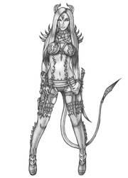 Inilia - Tiefling Warlock