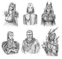 [COMMISSION] Karok Trader's masks