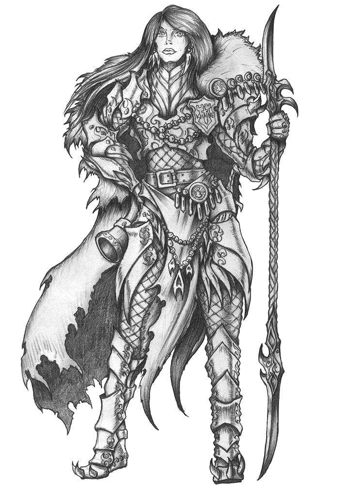Aino - Human Fighter/Barbarian