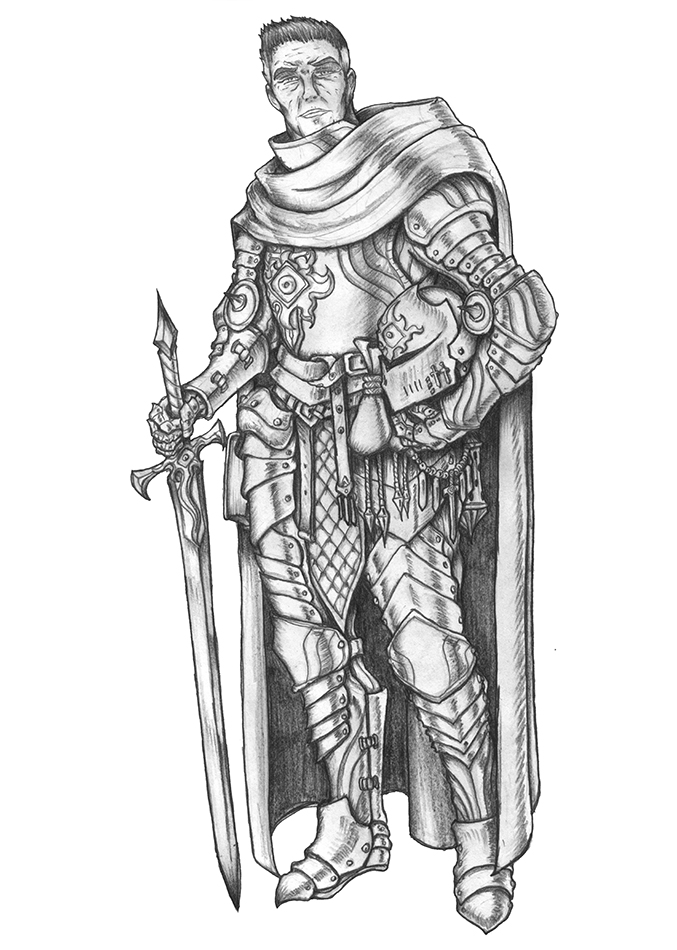 High Inquisitor Morn - Human Paladin