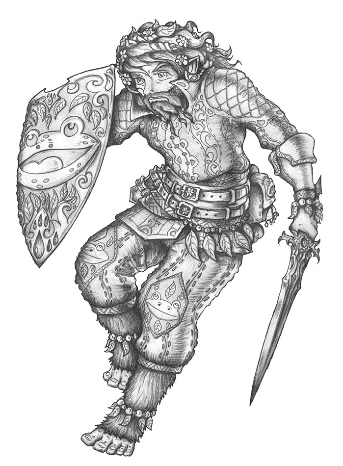 Buhovert The Victorious - Halfling Paladin