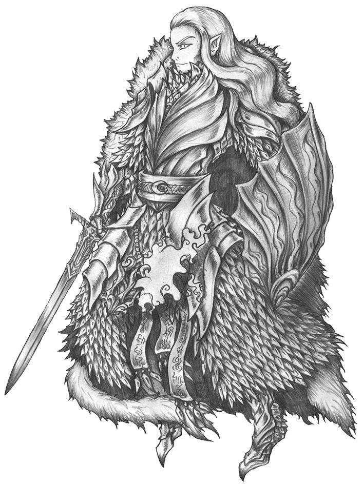 Aeron Silverleaf 2.0 - High Elf Warlock/Cleric