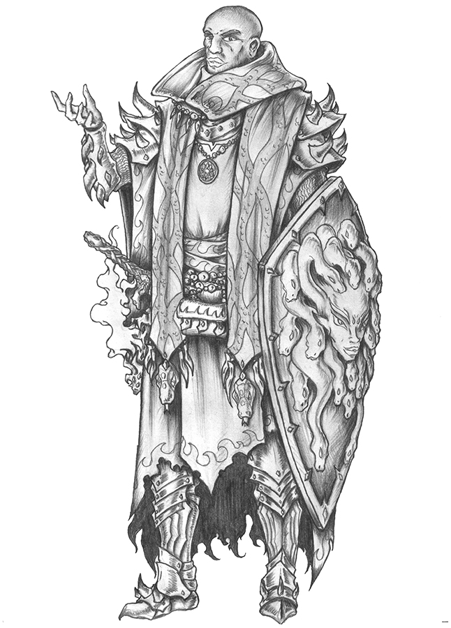 [COMMISSION] Hoonin - Human Cleric of Euryale