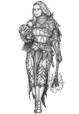 Varya The Saint - Human Paladin