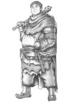 Henry - Human Life domain Cleric by s0ulafein