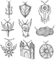 [COMMISSION] Anunnaki Culture: Elilium Sects by s0ulafein
