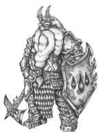 [COMMISSION] Raskill Killdare - Dwarf Slayer by s0ulafein