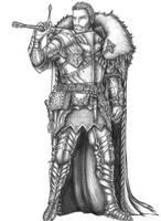 Jason Coven - Human Fighter/War Wizard by s0ulafein