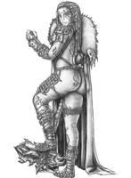Gellu Rockcaller - Goliath Barbarian by s0ulafein