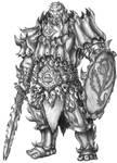 [COMMISSION] Dakhloth - Ogrillon Fighter