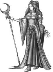 [COMMISSION] Aerix Corisilla - Vampire Wizard
