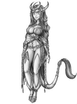 [COMMISION] Farrah - Aerolid Female