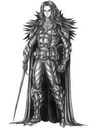 [COMMISSION] Kani - Shadar-Kai Barbarian