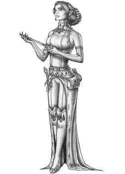 [COMISSION] Vara Cyrus - Vampire Sorceress