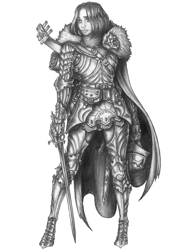 Maryana - Human Bard/Paladin