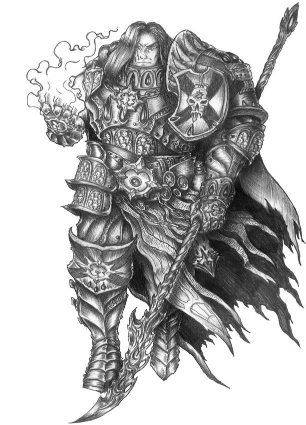 Astramael the Eternal - Human Zealot Barbarian/Pal